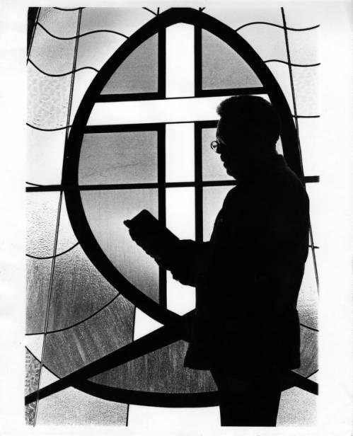 Rev. Claude Black at Mt. Zion Photograph