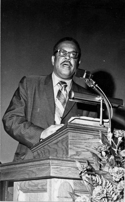 Rev. Claude Black Photograph
