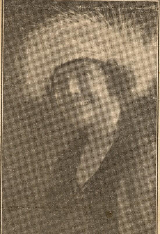 Newspaper Photo of Ursula