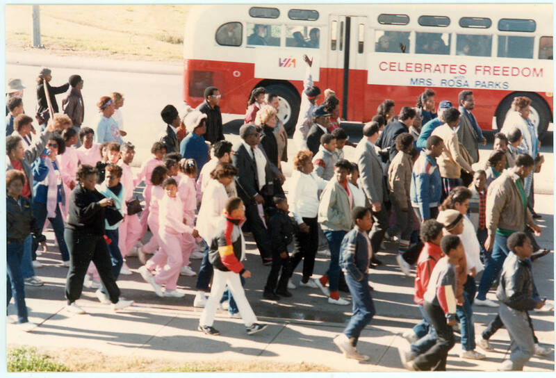 Martin Luther King Jr. Freedom March, 1987