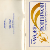 Word/Johnson Family Reunion Booklet