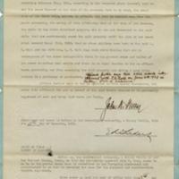 Affidavit of Inheritance