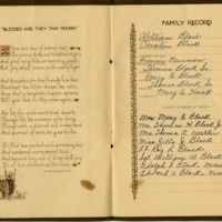 Funeral Service Record for Thomas Black Sr.