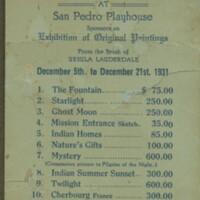 Ursula Exhibition Ticket