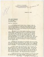 Hugh Umphres' letter